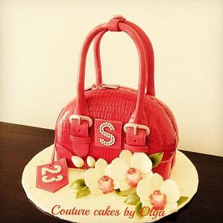 Fancy red bag