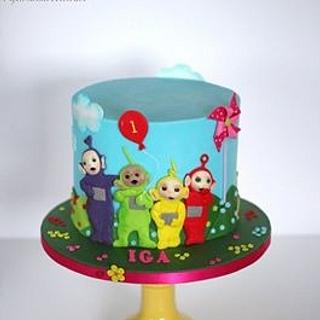 Teletubbies  - Cake by Sylwia