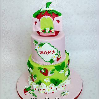 Strawberry Shortcake  - Cake by Nana Rose Cake