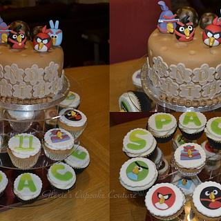 angry birds space - Cake by glenda