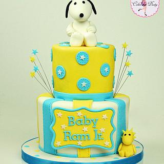 Snoopy & Woodstock Baby Shower