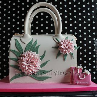 FASHION bag cake