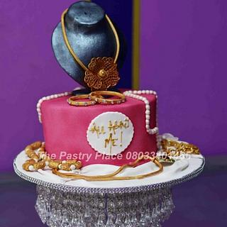 sugar jewels - Cake by thepastryplace