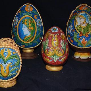 uova pasquali decorati