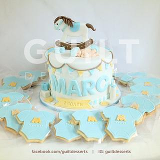 Rocking Horse Baby 2.0 - Cake by Guilt Desserts