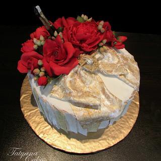 Cake for artist
