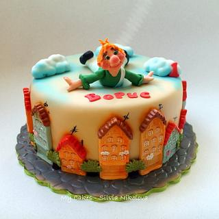 Karlsson On The Roof Cake