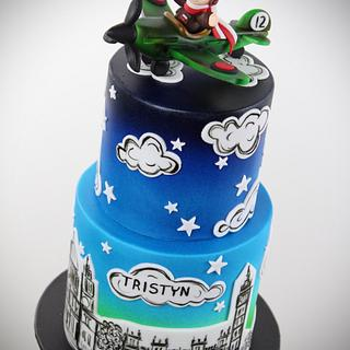 1940 Battle of Britain - Cake by RED POLKA DOT DESIGNS (was GMSSC)