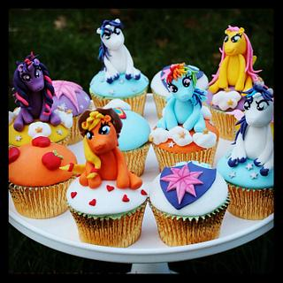 My Little Pony Cupcake Magic!