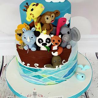 Christine - Noah's Ark Cake