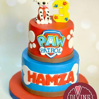 Paw Patrol  - Cake by Nelly S.Kamal