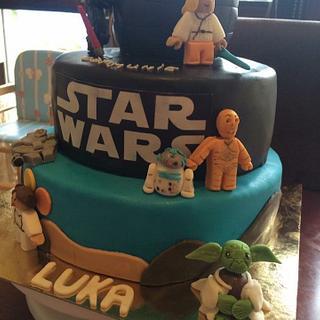 StarWars cake - Cake by Jenny's Cakery