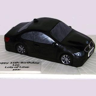 BMW M3 Cake