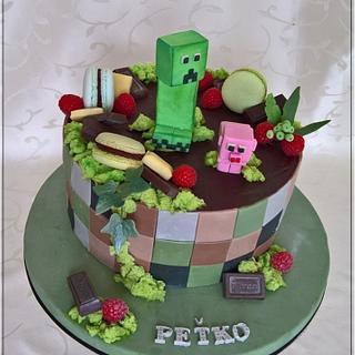 Minecraft cake - Cake by Tortolandia