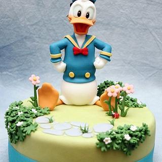 Donald Duck - Cake by Cesare Corsini