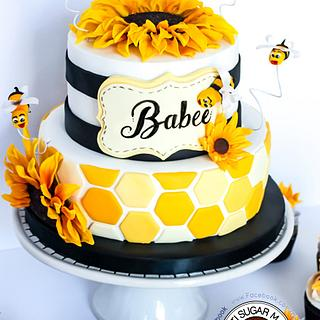 Babee shower cake