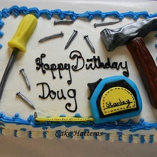 Handyman Birthday Cake