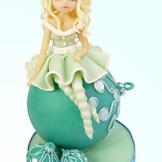 MISS NAVIDAD - Cake by ChocoCake