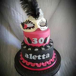 My birthday present for Aletta