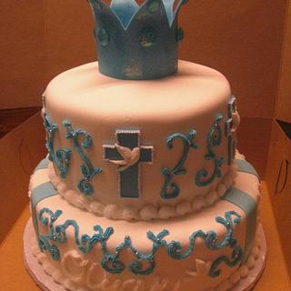 Prince Baptism - Cake by sugarmommas