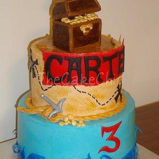 Pirate Cake - Cake by Misty