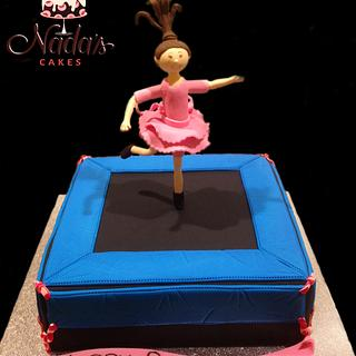 Trampoline Girl - Cake by Nada