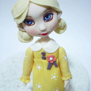 second baby doll - Cake by fantasticake by mihyun