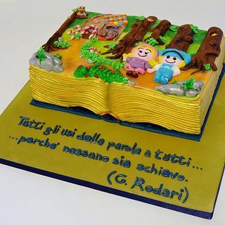 Hansel and Gratel Cake