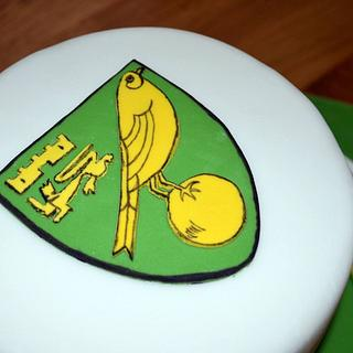 Norwich City FC cake