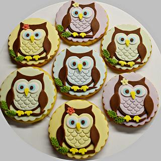 Owl cookies - Cake by My sweet hobby