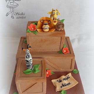 Madagascar - Cake by Sladká závislost