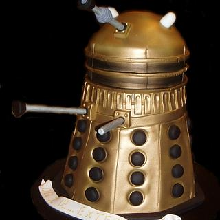 Doctor Who Darlek Cake