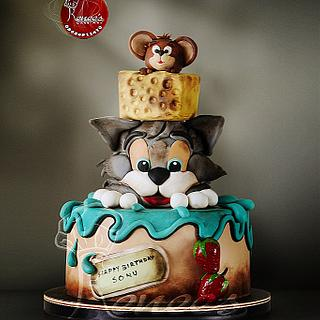 Tom & Jerry Cake by Purbaja B Chakraborty