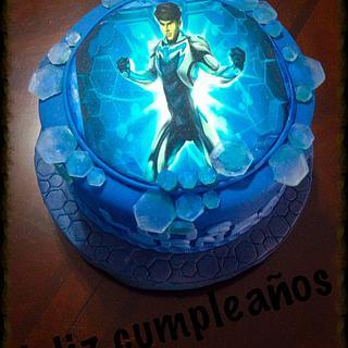 Max Steel - Cake by Angela de Ramos