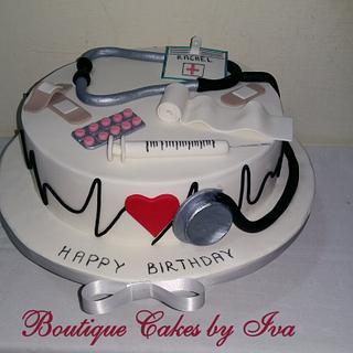 Cake for doctor - Cake by Iva Halacheva