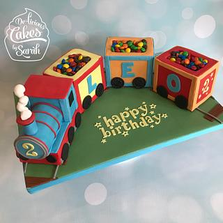 Train sweetie cake