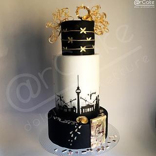 Ich habe einen Traum  - Cake by maria antonietta motta - arcake -