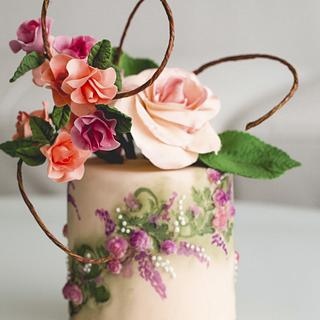 #4 Wedding Cake inspired by Enchanted Garden