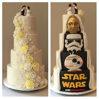 Hidden surprise wedding cake - Cake by Shereen