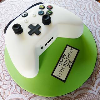 XBox 360 game controller cake