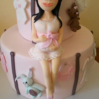 Baby Shower Cake/ Tarta Baby Shower