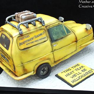 Trotter Van - Cake by Mother and Me Creative Cakes