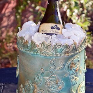 Winebottle Cake