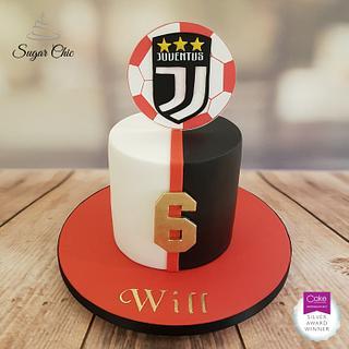 x Juventus Ronaldo Cake x - Cake by Sugar Chic