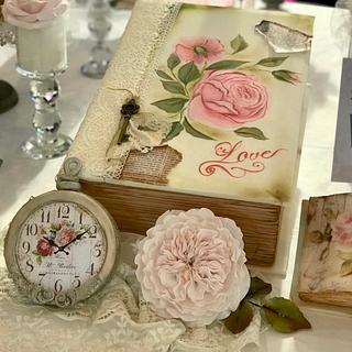 book reloj y rosa Inglesa comestibles