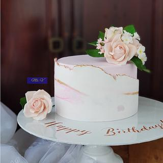 Cake for a lovely wife