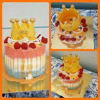 Dutch kingsday cake