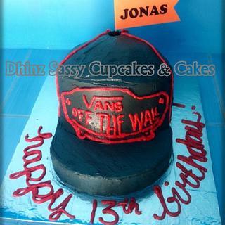Vans Hat Cake