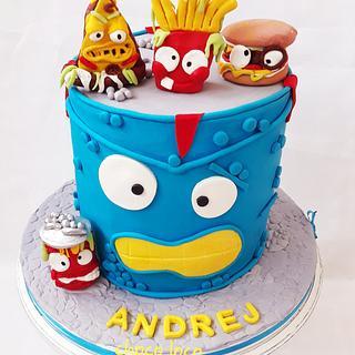 Prime Gross 4 Cakes Cakesdecor Personalised Birthday Cards Arneslily Jamesorg