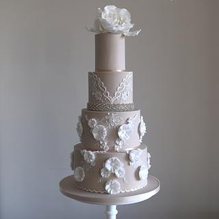 Berta wedding dress inspired design